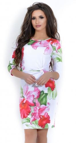 Платье № 1207N ирис