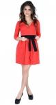 Платье № 30162SN красное (розница 515 грн.)