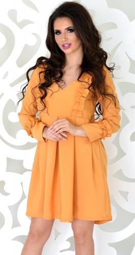 Платье № 3301SN горчичное (розница 350 грн.)