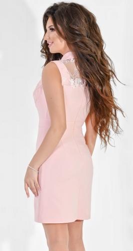 Платье № 3684N розовый (розница 625 грн.)