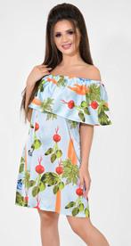 Платье № 13042 Dolche на голубом