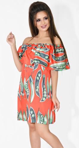 Платье № 13042N Dolche на красном (розница 520 грн.)