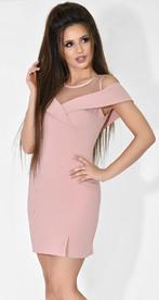 Платье № 33415 пудра
