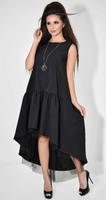 Платье № 3689 черное