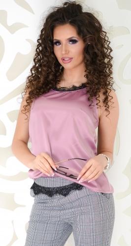 Блуза № 3624N розовая пудра (розница 440 грн.)