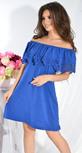 Платье № 13041 электрик