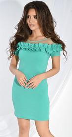 Платье № 33103S мята