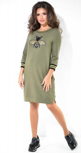 Стильное спортивное платье № 3761H
