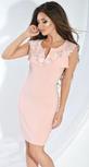 Платье № 16993 пудра