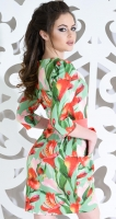 Платье № 1224  салатовый