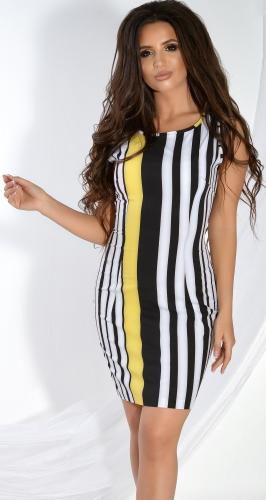 Лёгкое платье в полоску