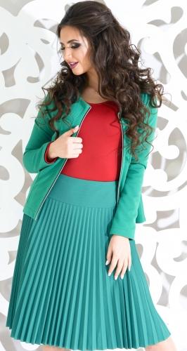 Пиджак № 35813L зелёный
