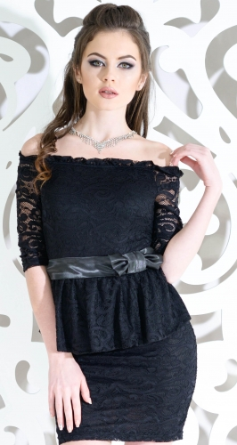 Платье № 3005SN черное