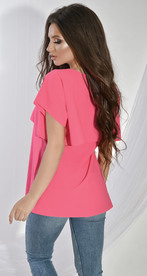 Блуза № 1212 малиновая