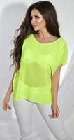 Блуза № 1212N салатовая (розница 425 грн.)