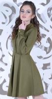 Платье № 1494 хаки