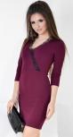 Платье № 35392S марсала (розница 515 грн.)