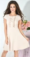 Платье № 3690N бежевый (розница 505 грн.)