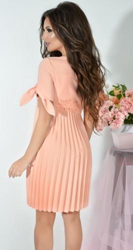Платье № 3334SnN персик (розница 660 грн.)