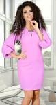 Сиреневое нежное и нарядное  платье
