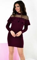 Платье № 3239S марсала (розница 480 грн.)