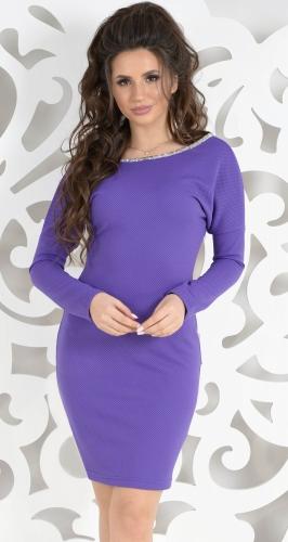 Платье № 17173N фиолет