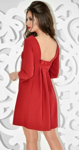 Платье № 31705SN бордо (розница 495 грн.)