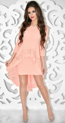 Платье № 30673SN персик (розница 610 грн.)