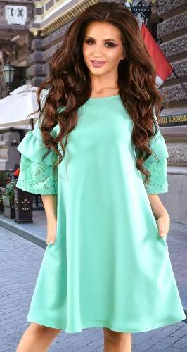 Платье № 3644N мята