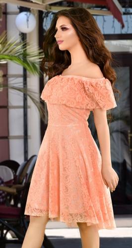 Платье № 36923N персиковый (розница 680 грн.)