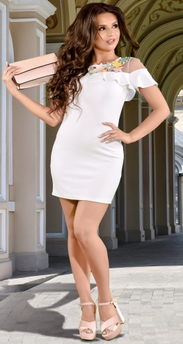 Платье № 3340SN белый (розница 480 грн.)