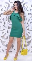 Платье № 3597S зеленое