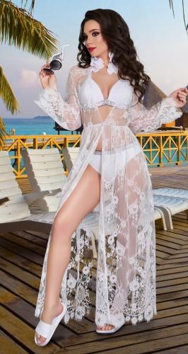 Французское пляжное платье № 4345