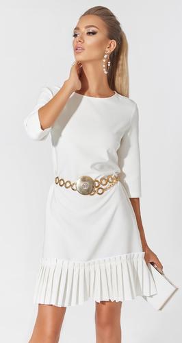 Платье с плиссе № 1705