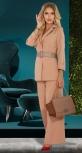 Модный брючный костюм № 4511