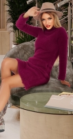 Вязаное платье АЛЬПАКА № 44323