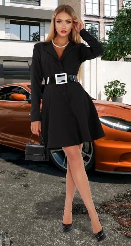 Платье-пиджак на подкладке № 4524