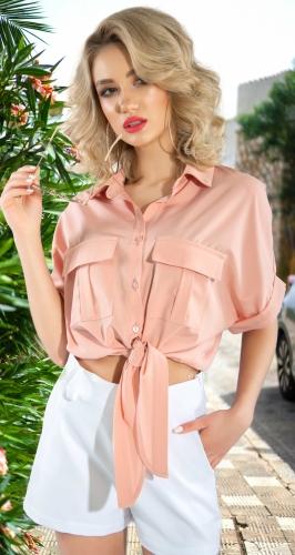 Блузка с завязками № 4402