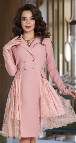 Красивое платье-пиджак № 4263