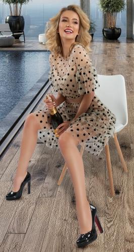 Красивое платье № 43713