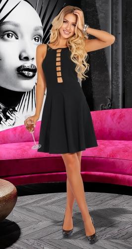 Черное вечернее платье № 4550