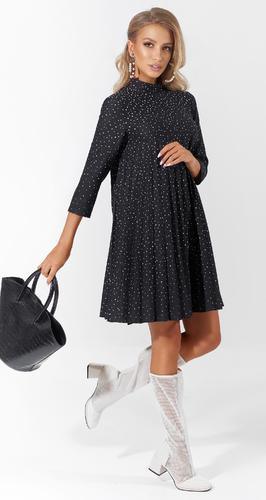 Красивое платье в складку