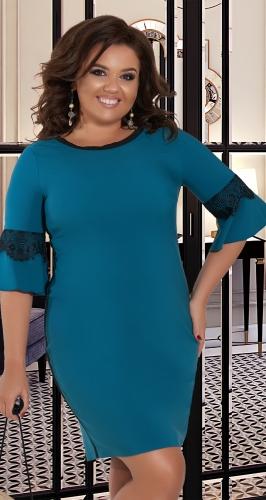 Платье свободного силуэта № 36161