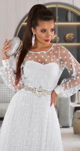 Нарядное платье-двойка  № 4412