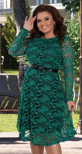 Красивое кружевное платье № 39141
