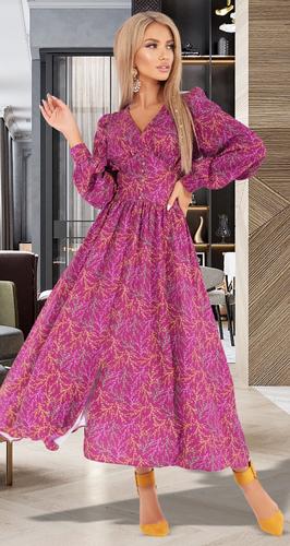 Платье в длине МИДИ