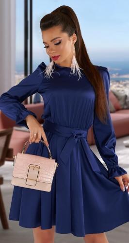 Шелковое платье № 4352
