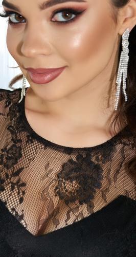 Красивое облегающее платье № 4262