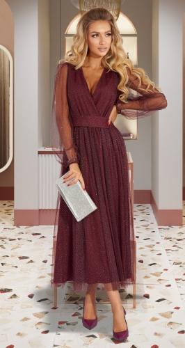 Воздушное нарядное платье № 45613