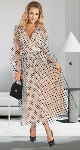 Воздушное нарядное платье № 4561